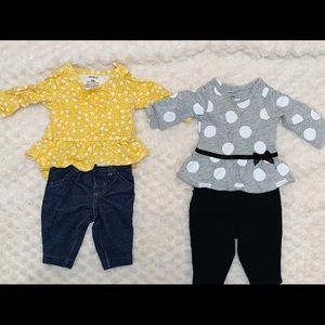 Newborn baby outfit sets